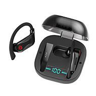 رخيصةأون -الأصلي powerhbq الموالية 62 الرياضة لياقة الأذن مشبك الأذن صحيح سماعات لاسلكية بلوتوث 5.0 سماعة ipx5 للماء المزدوج الميكروفونات 950 مللي أمبير شحن حالة