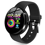 tanie -Damskie Inteligentny zegarek Cyfrowy Elegancki Silikon Czarny 30 m Pulsometry Bluetooth Smart Cyfrowy Moda - Czarny Rok Żywotność akumulatora / Stal nierdzewna