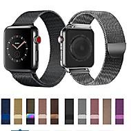 economico -Cinturino per orologio  per Apple Watch Series 5/4/3/2/1 Apple Cinturino a maglia milanese Acciaio inossidabile Custodia con cinturino a strappo