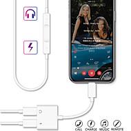 2 u 1 munje u dvostruki razdjelnik zvuk za slušalice i kabel za punjač za iphone 11/11 pro / 11 pro max / x xs xr / xs max / 7 8 plus