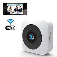 povoljno -wifi & bežični hd 1080p 2mp mini kamera mobilni telefon daljinsko gledanje otkrivanje pokreta alarma noćno viđenje 140 ° super širok kut za uredsku učionicu vožnja kućna podrška tf kartica