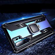 Schokbestendig transparant armor telefoon hoesje voor Huawei P30 Pro P30 Lite Mate 20 Pro Mate 20x magnetische houder ring achterkant siliconen zachte TPU rand beschermend