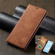 Luxury Leather Magnetic Flip Case for Huawei Honor 10 Lite Wallet Card Holder Book Cover P30 P30 Lite P30 Pro P20 P20 Lite P20 Pro P Smart 2019 Mate 20 Mate 20 Lite Mate 20 Pro