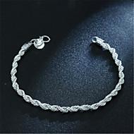 voordelige -Heren Dames Armband Klassiek Ster Modieus Armband sieraden Zilver Voor Dagelijks