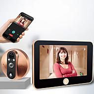 povoljno -m20 200w inteligentni elektronički mačji oko, vrata, bežični interfon, video zvona, 4,3 inčni kućni video handsfree, jedan kućni video, unutarnji zvučnik, infracrveni noćni vid daljinski nadzor aplika
