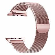 levne -kapela na hodinky pro hodinky Apple série 5/4/3/2/1 apple milanese smyčka z nerezové oceli na zápěstí