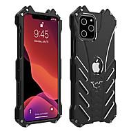 voordelige -hoesje voor apple iphone xs / iphone xr / iphone xs max schokbestendige achterkant effen gekleurd aluminium