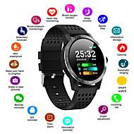 tanie -Męskie Inteligentny zegarek Cyfrowy Elegancki Silikon Czarny / Niebieski 30 m Pulsometry Bluetooth Smart Cyfrowy Moda - Czarny Niebieski Rok Żywotność akumulatora