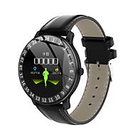 tanie -Inteligentny zegarek Cyfrowy Styl nowoczesny Sportowy Prawdziwa skóra 30 m Wodoszczelny / Wodoodporny Pulsometry Bluetooth Cyfrowy Casual Na zewnątrz - Czarny Niebieski Czerwony