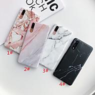 ケース 用途 Huawei Huawei P20 / Huawei P20 Pro / ファーウェイP30 IMD / つや消し / パターン バックカバー マーブル TPU