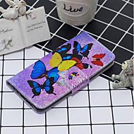 abordables -Coque Pour Apple iPhone 11 / iPhone 11 Pro / iPhone 11 Pro Max Portefeuille / Porte Carte / Antichoc Coque Intégrale Chat / Papillon / Fleur faux cuir