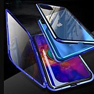 coque magnétique pour iphone 11 / iphone 11 pro / iphone 11 pro max coque 360 double coque en verre trempé métal pour couvrir les étuis aimant pour iphone xs max / xr / xs / x / 8plus / 7plus / 6s