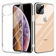Crystal Transparent Glass Case For iPhone 11/iPhone 11 pro TPU Double Clear Glass Drop Protective Cover For iPhone X/XR/XS Max