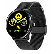 tanie -MX6 inteligentny zegarek mężczyźni kobiety pełny ekran dotykowy ip68 wodoodporny zegar monitor tętna zegar dla Xiaomi Huawei