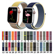 cheap -Nylon Woven Sport Loop Bracelet Watch Band Strap For Apple iWatch series 5 4 3 2 1