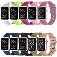 siliconen band voor Apple Watch-serie 5/4/3/2/1 band 44 mm 40 mm 42 mm 38 mm horlogeband met ruitpatroon