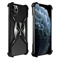 voordelige -hoesje Voor Apple iPhone 11 / iPhone 11 Pro / iPhone 11 Pro Max Schokbestendig Achterkant Effen Aluminium