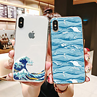 Hülle Für Apple iPhone 11 / iPhone 11 Pro / iPhone 11 Pro Max Muster Rückseite Durchsichtig / Landschaft TPU