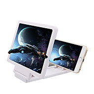 cheap -Mobile Phone Screen Magnifier Eyes Protection Display 3D Video Screen Amplifier Folding Enlarged Expander Stand