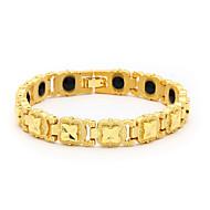 voordelige -Heren Vintage Armbanden Oorbellen / armband Klassiek Lucky Luxe Klassiek Vintage modieus Modieus Legering Armband sieraden Goud Voor Dagelijks School Straat Feestdagen Festival