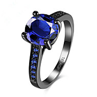 povoljno -Žene Prsten 1pc Plava Kamen Krug Stilski Dar Festival Jewelry Klasičan Cvijet Cool