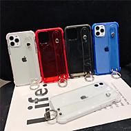 voordelige -hoesje Voor Apple iPhone 11 / iPhone 11 Pro / iPhone 11 Pro Max Doorzichtig Achterkant Effen TPU