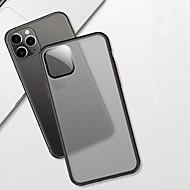 voordelige -hoesje Voor Apple iPhone 11 / iPhone 11 Pro / iPhone 11 Pro Max Mat / Doorzichtig Achterkant Effen TPU / Muovi