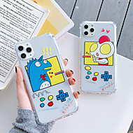 voordelige -hoesje Voor Apple iPhone 11 / iPhone 11 Pro / iPhone 11 Pro Max Schokbestendig / Transparant / Patroon Achterkant Cartoon TPU