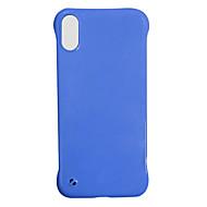 voordelige -hoesje Voor Apple iPhone 11 / iPhone 11 Pro / iPhone 11 Pro Max Ultradun Achterkant Effen silica Gel
