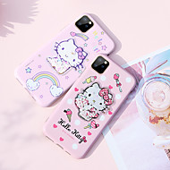 voordelige -hoesje Voor Apple iPhone 11 / iPhone 11 Pro / iPhone 11 Pro Max Patroon / Glitterglans Achterkant Cartoon / Glitterglans PC