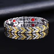 voordelige -Heren Vintage Armbanden Oorbellen / armband Retro Lucky Luxe Klassiek Vintage modieus Modieus Legering Armband sieraden Goud Voor Dagelijks Straat Feestdagen Club Festival