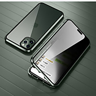 Funda Para Apple iPhone 11 / iPhone 11 Pro / iPhone 11 Pro Max Antigolpes / Transparente Funda de Cuerpo Entero Transparente Vidrio Templado