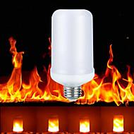 ieftine -ywxlight® Bec cu efect de flacără led e27 / e26 3 moduri led diodă dinamică lampă cu flacără acasă atmosferă interioară iluminat AC 85-265v