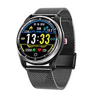 tanie -Inteligentny zegarek Cyfrowy Styl nowoczesny Sportowy Prawdziwa skóra 30 m Wodoszczelny / Wodoodporny Pulsometry Bluetooth Cyfrowy Casual Na zewnątrz - Czarny Brązowy czarny / srebrny