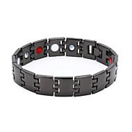 voordelige -Heren Vintage Armbanden Armband Oorbellen / armband Retro Lucky Luxe Klassiek Vintage modieus Modieus Legering Armband sieraden Zwart Voor Dagelijks Straat Feestdagen Club Festival