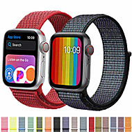 cheap -Band For Apple Watch Series 5/4 /3/2/1 38mm 40mm  42mm 44mm Nylon Soft Breathable Replacement Strap Sport Loop for iwatch series