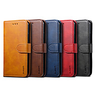 Case For Huawei Huawei P20 lite / Huawei P30 / Huawei P30 Pro Card Holder / Magnetic / Auto Sleep / Wake Up Full Body Cases Solid Colored PU Leather