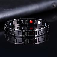 voordelige -Heren Vintage Armbanden Oorbellen / armband Klassiek Lucky Luxe Klassiek Vintage modieus Modieus Legering Armband sieraden Zwart Voor Lahja Dagelijks Feestdagen Club Festival