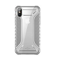 levne -Carcasă Pro Apple iPhone XS Ultra tenké / Průhledné Zadní kryt Průhledný / Jednobarevné TPU
