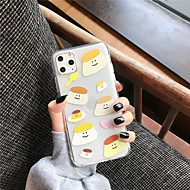 voordelige -hoesje Voor Apple iPhone 11 / iPhone 11 Pro / iPhone 11 Pro Max Transparant / Patroon Achterkant Cartoon TPU