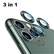 cheap -Back Aluminum Alloy Tempered Glass Lens Protector for iPhone 11 Pro / 11 Pro Max