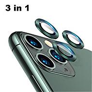 levne -chránič čoček z tvrzeného skla z hliníkové slitiny pro iphone 11 pro / 11 pro max