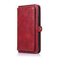 Недорогие -Кейс для Назначение Apple iPhone 11 / iPhone 11 Pro / iPhone 11 Pro Max Кошелек / Бумажник для карт Чехол Однотонный Кожа PU