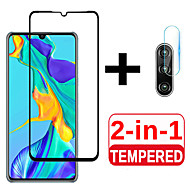 cheap -2 in 1 Protective Glass For Huawei P30 p30pro P30lite Camera Screen Protector Tempered Glas For Huawei P 30 lite 30lite light Lens Film