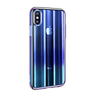 levne -Carcasă Pro Apple iPhone XR Ultra tenké / Průsvitný Zadní kryt Zářící barvy TPU