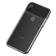 voordelige -hoesje Voor Apple iPhone XS / iPhone XR / iPhone XS Max Ultradun / Transparant Achterkant Transparant / Effen TPU
