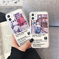 Недорогие -Кейс для Назначение Apple iPhone 11 / iPhone 11 Pro / iPhone 11 Pro Max Защита от удара Кейс на заднюю панель Мультипликация ТПУ
