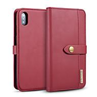 abordables -Coque Pour Apple iPhone 11 / iPhone 11 Pro / iPhone 11 Pro Max Porte Carte / Antichoc Coque Intégrale Couleur Pleine faux cuir