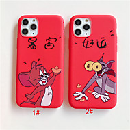 voordelige -hoesje Voor Apple iPhone 11 / iPhone 11 Pro / iPhone 11 Pro Max Patroon Achterkant dier / Cartoon TPU