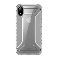 voordelige -hoesje Voor Apple iPhone XR / iPhone XS Max Ultradun / Transparant Achterkant Transparant / Effen TPU